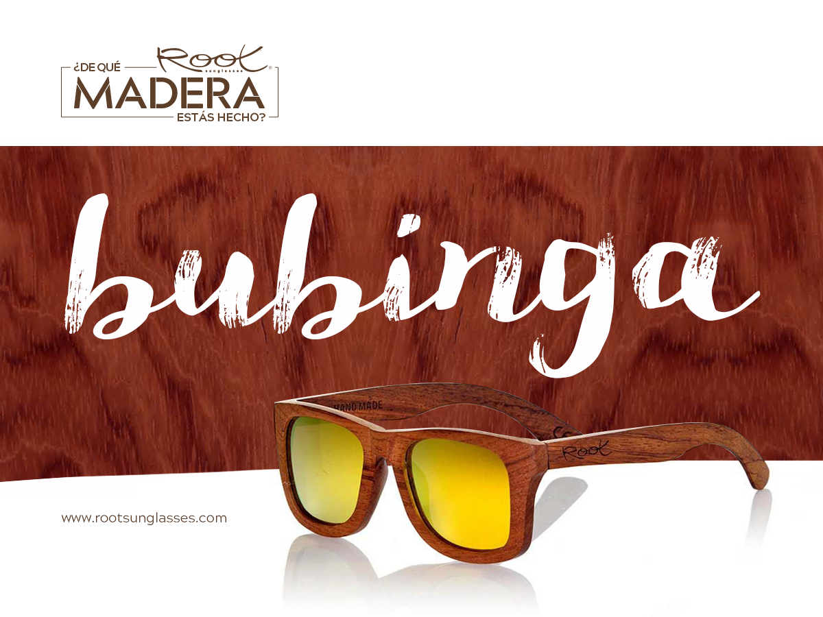 wooden glasses from Bubinga