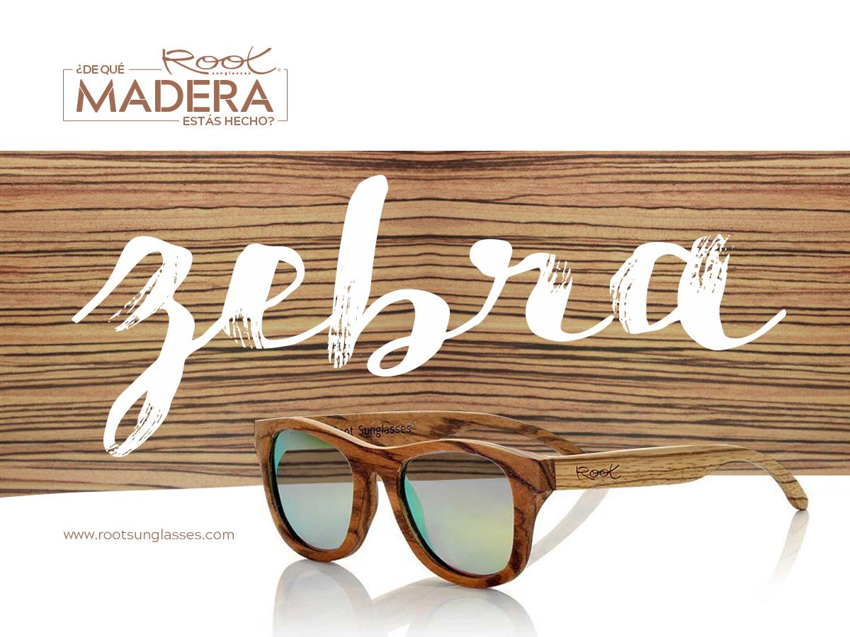 Wooden glasses from Zebra