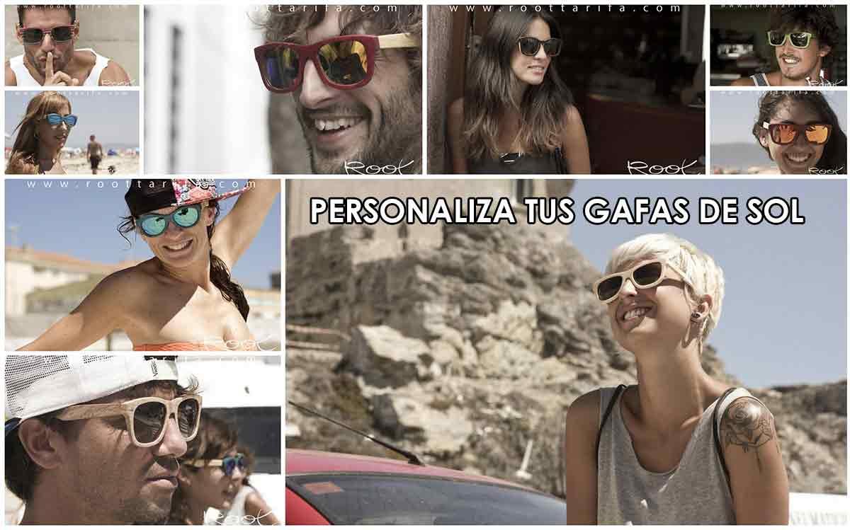 Gafas de sol de madera Natural Personalizadas. Root Sunglasses - Gafas y Relojes de Madera Natural.