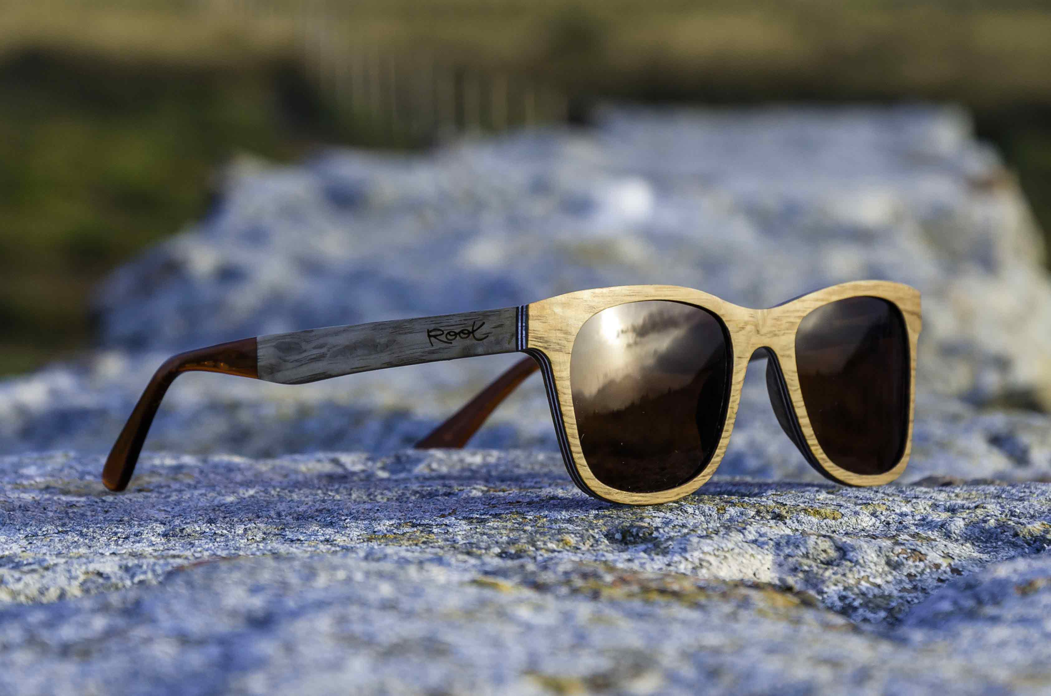 New Aluminized Wood Sunglasses Root Wooden Sunglasses
