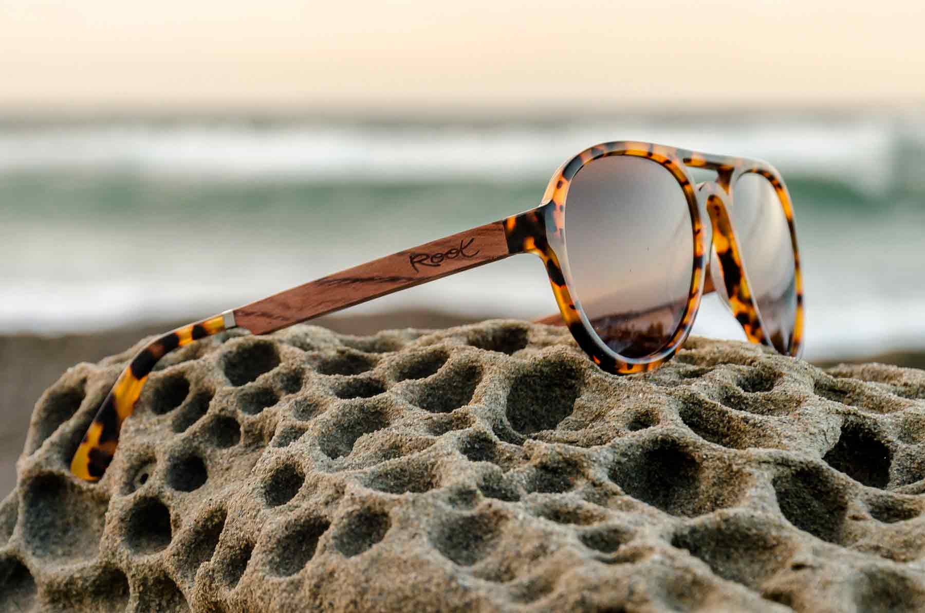 Gafas Mixed Premium Limited Edition Root Wooden Sunglasses