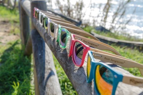 Root Wooden Sunglasses New MIXED line
