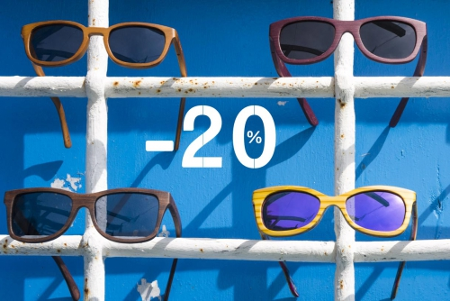 Root Wooden Sunglasses -20% Special Discount - Limited time