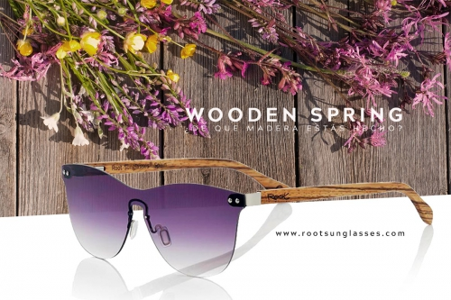 Sunglasses Trends for Spring 2018. Root Wooden Sunglasses ®