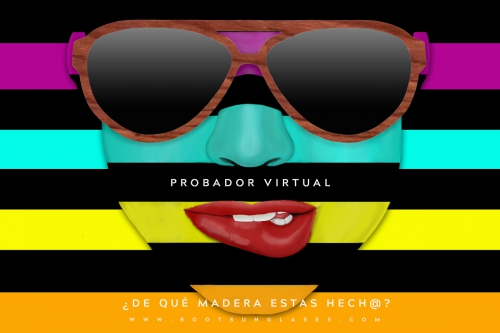 Pruébate las gafas de sol… Virtualmente | Root Sunglasses & Watches