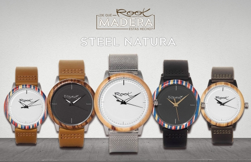 Steel Nature: The New Wooden Watches Collection of Root. Root Wooden Sunglasses