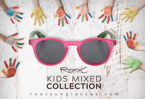 Wooden sunglasses for Kids. Root Wooden Sunglasses