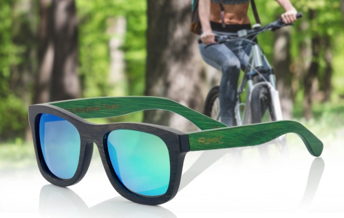 What sunglasses to you choose to go on a bike. Root Wooden Sunglasses