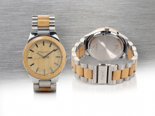 Wood and Steel two key materials for ECO Watches. Root Wooden Sunglasses