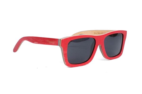 gafas de sol de madera natural Root Cadizfornia