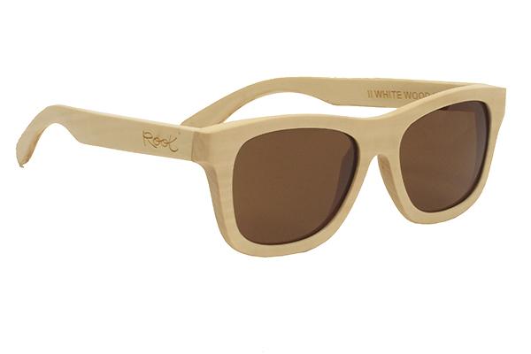 gafas de sol de madera natural Root ZEN