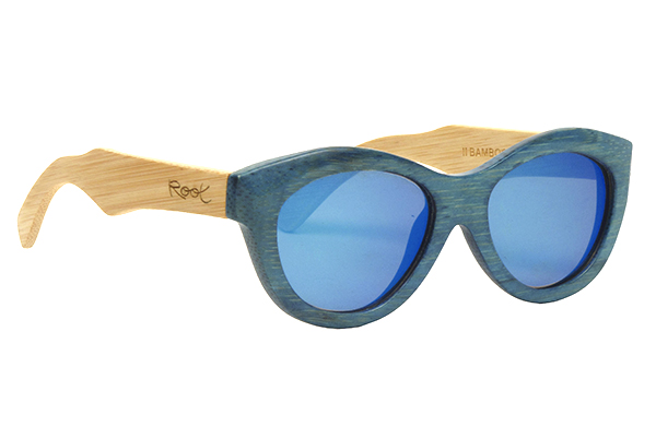 Gafas de sol de madera natural Root Yemaya