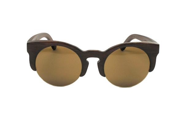 Gafas de sol de madera natural bohemia