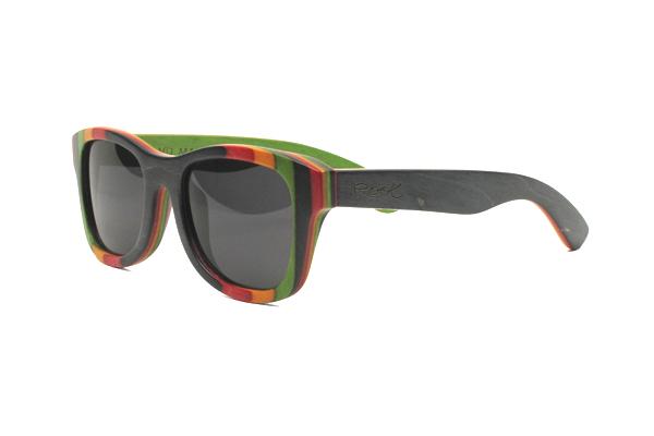 Gafas de sol de madera natural Root UHURU