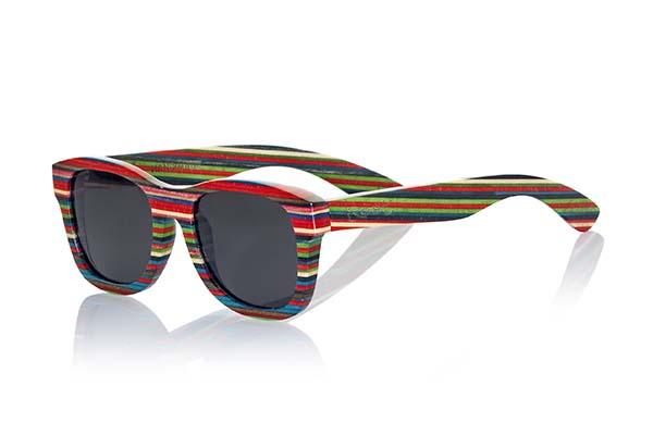 Gafas de sol de madera natural Root Sabay