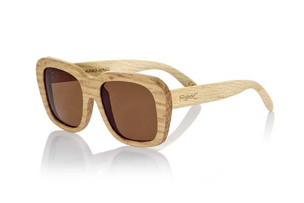 gafas de sol de madera natural Root Uluwatu