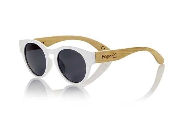 Wooden Sunglasses Root GUM WHITE
