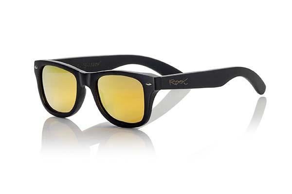 Wooden Sunglasses Root BLACKCAT II