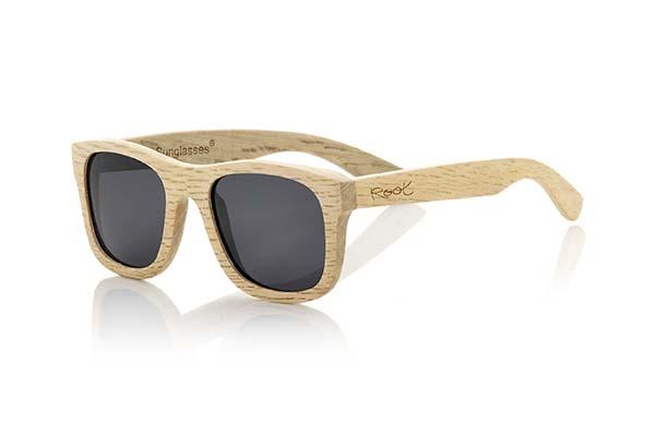 gafas de sol de madera natural Root Rajastan