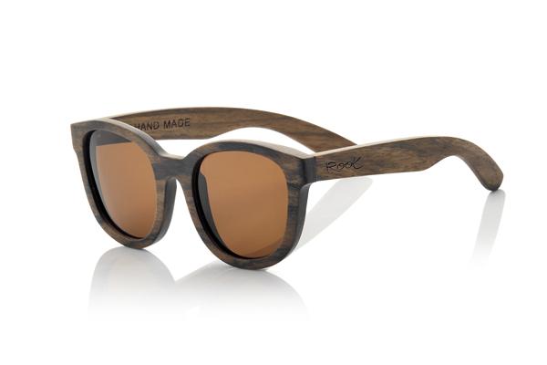 gafas de sol de madera natural Root Audrey