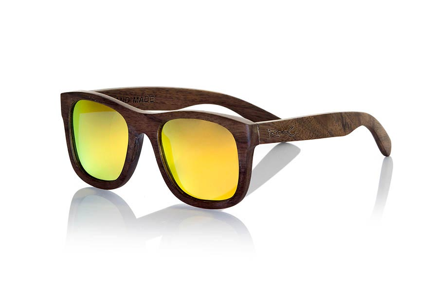 Gafas de Madera Natural de Nogal Negro WOOD SUNSET S.   |  Root Sunglasses®