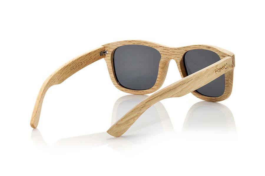 Gafas de Madera Natural de Roble RAJASTAN | Root Sunglasses ®