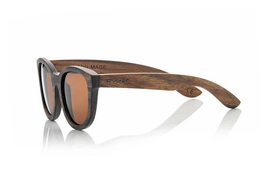 Wood eyewear of Ebony AUDREY.   |  Root Sunglasses®