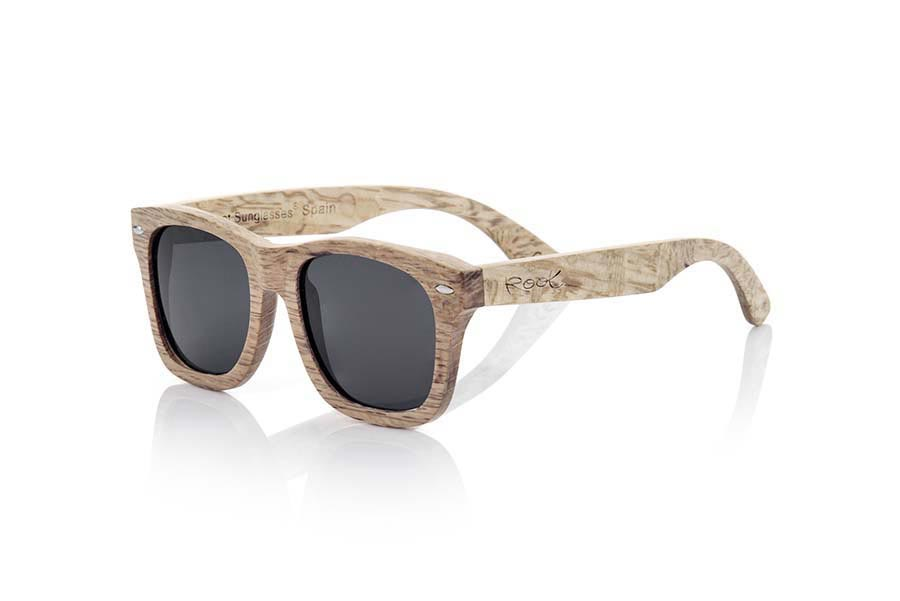 Wood eyewear of Oak modelo TERRACOTA | Root Sunglasses®