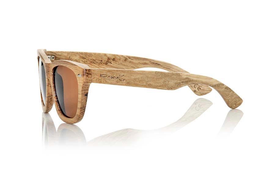 Wood eyewear of Oak TERRACOTA | Root Sunglasses ®