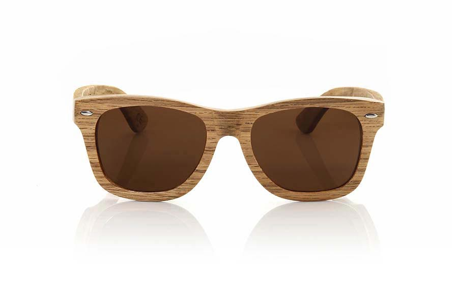 Wood eyewear of Oak TERRACOTA | Root Sunglasses®