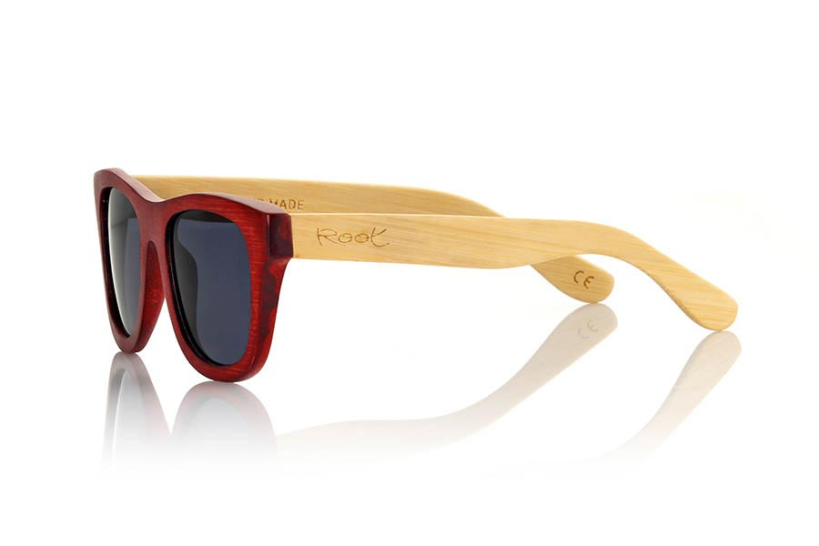 Wood eyewear of Bamboo VOLCANO | Root Sunglasses ®