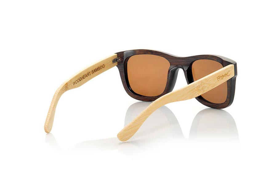 Wood eyewear of Bamboo WOODHEART S | Root Sunglasses®