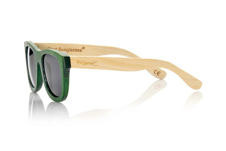 Wood eyewear of Bamboo AMAZONIAN.   |  Root Sunglasses®