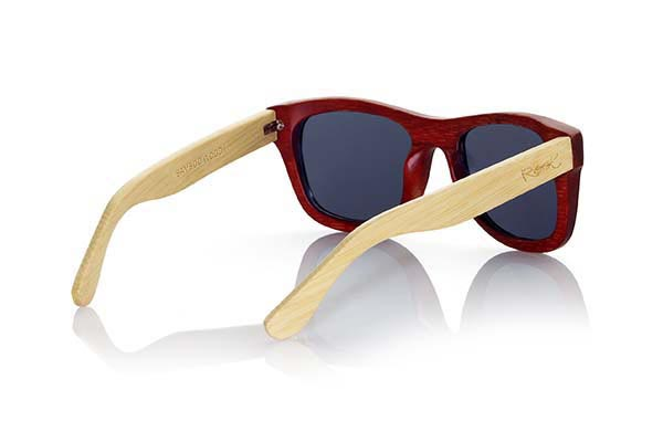 Wood eyewear of Bamboo VOLCANO | Root Sunglasses®