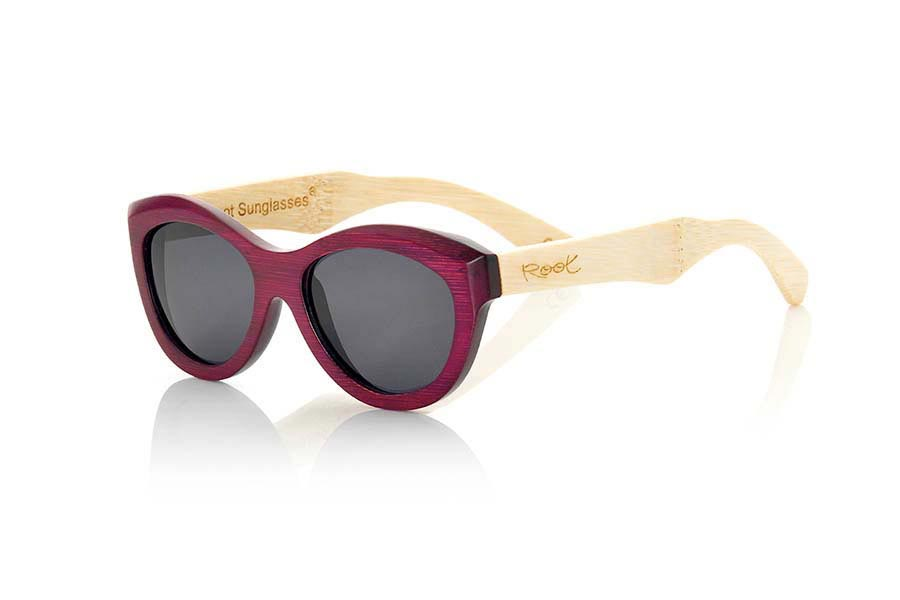 Wood eyewear of Bamboo MAHOGANY | Root Sunglasses®