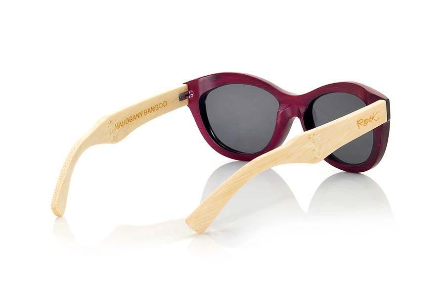 Wood eyewear of Bamboo MAHOGANY | Root Sunglasses ®