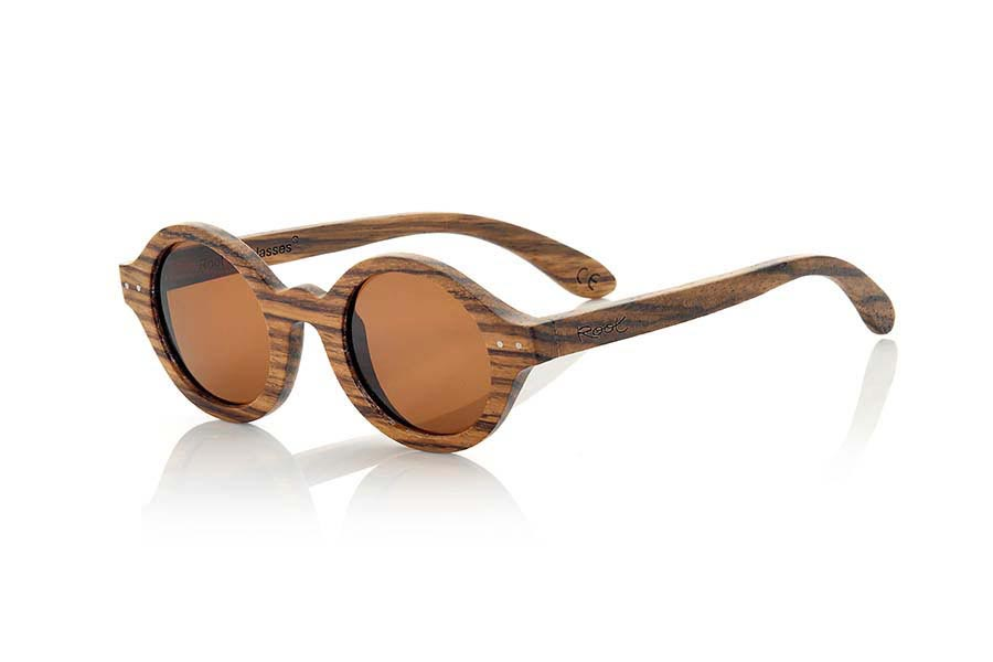 Wood eyewear of Zebra BOHO ECO | Root Sunglasses®