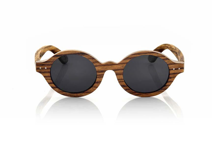 Gafas de Madera Natural de Zebrano BOHO ECO | Root Sunglasses®