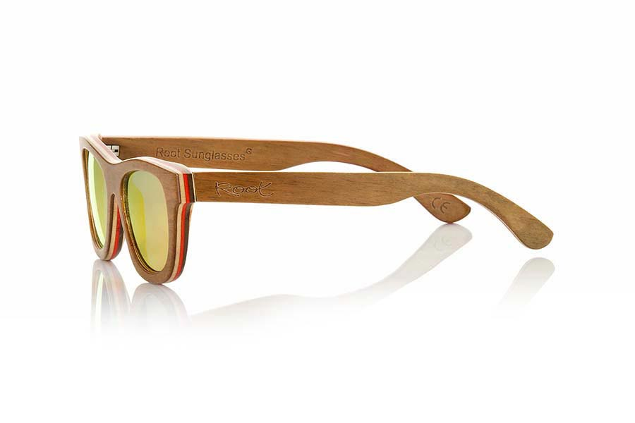 Root Wooden Sunglasses FIRE