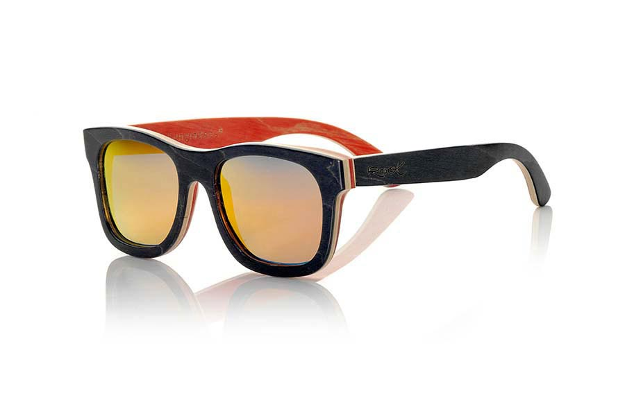 Wood eyewear of Skateboard TAIGA | Root Sunglasses®