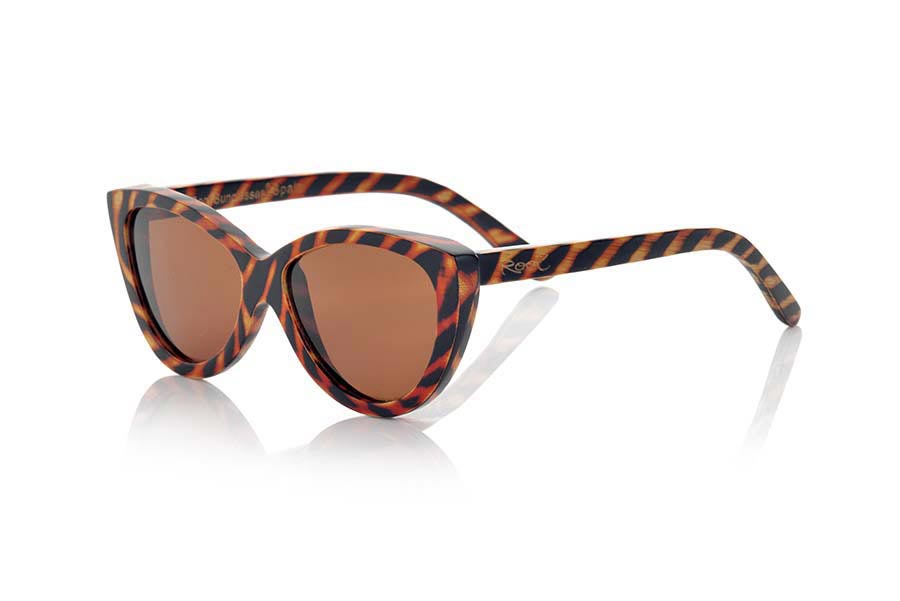 Wood eyewear of Bamboo modelo SMOKY | Root Sunglasses®