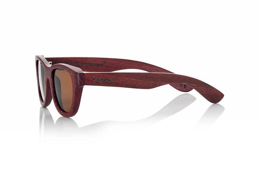 Gafas de Madera Natural de Padauk RAPSODIA | Root Sunglasses®