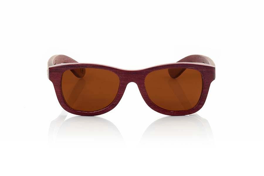 Wood eyewear of Padauk RAPSODIA | Root Sunglasses®