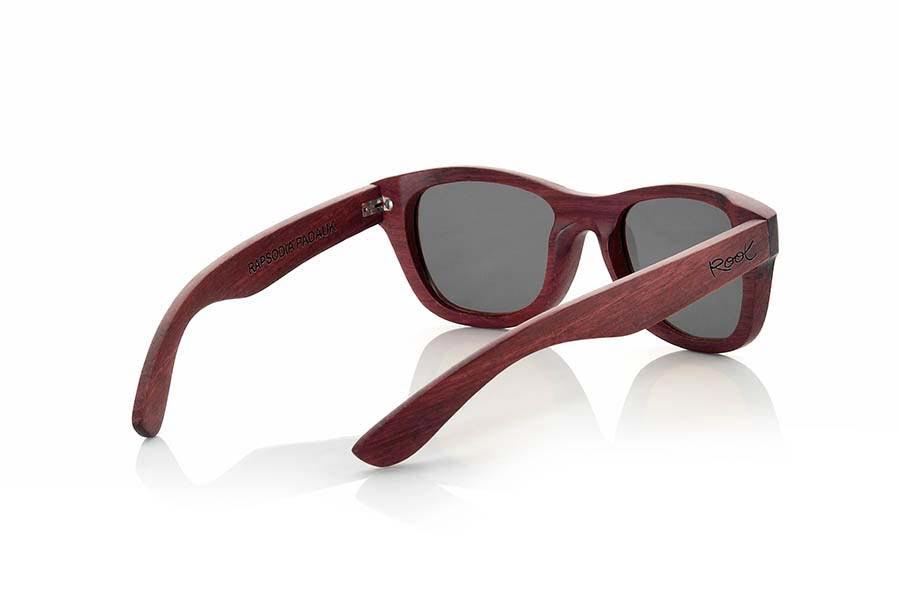 Wood eyewear of Padauk RAPSODIA   Root Sunglasses ®