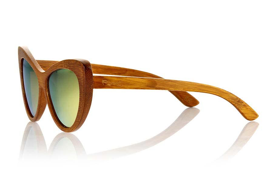 Wood eyewear of Bamboo modelo GOBI | Root Sunglasses®