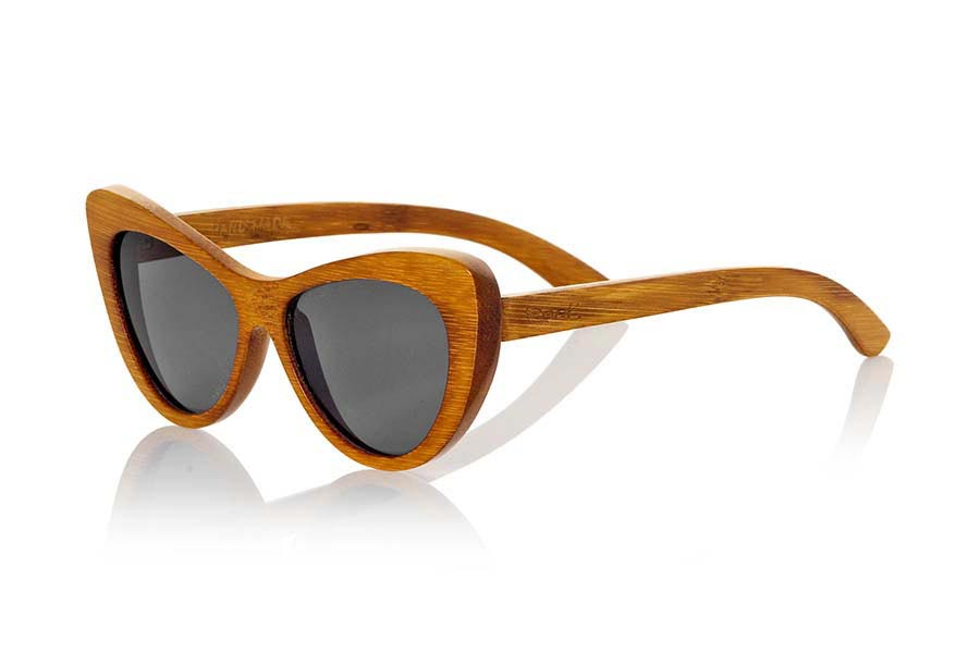 Wood eyewear of Bamboo GOBI.   |  Root Sunglasses®