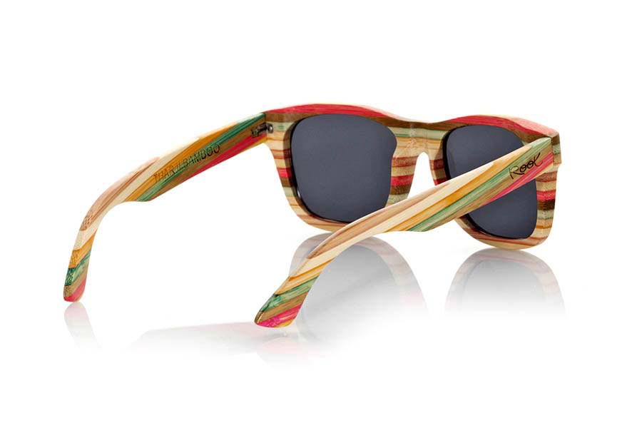 Wood eyewear of Bamboo modelo THAR | Root Sunglasses®