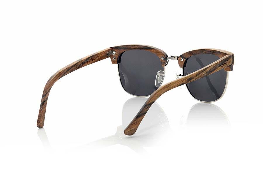 Gafas de Madera Natural de Ébano KYZYL | Root Sunglasses®