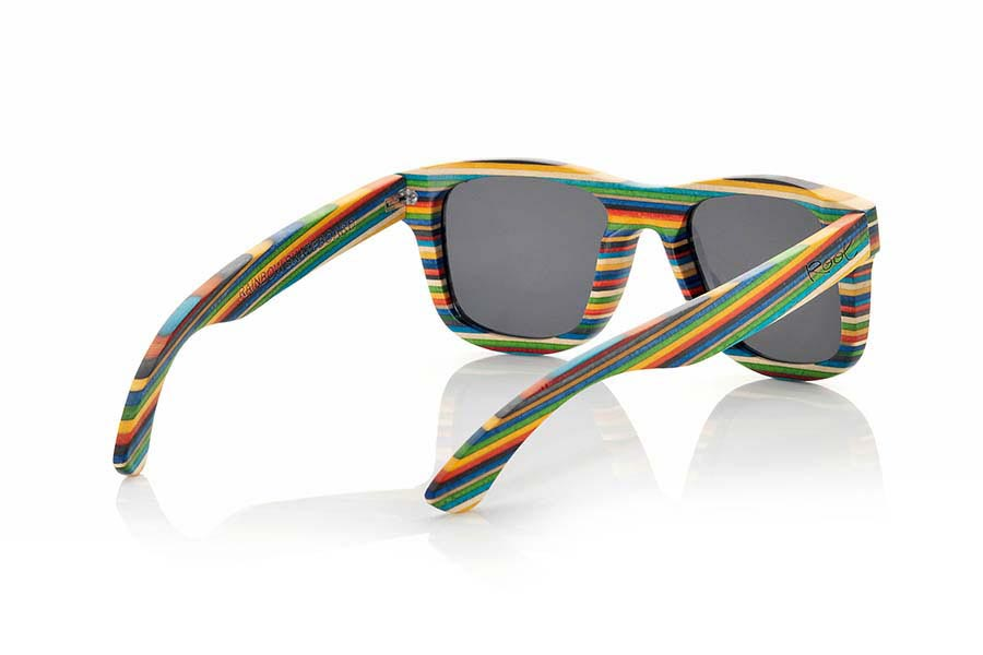 Gafas de Madera Natural de Laminada RAINBOW | Root Sunglasses®