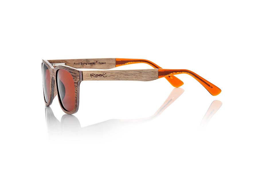Gafas de Madera Natural de Pear PALAU | Root Sunglasses ®